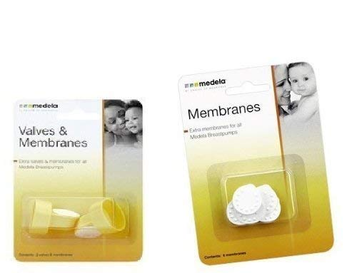 Medela Valves & Membranes with Replacement Membrane 6 Pack