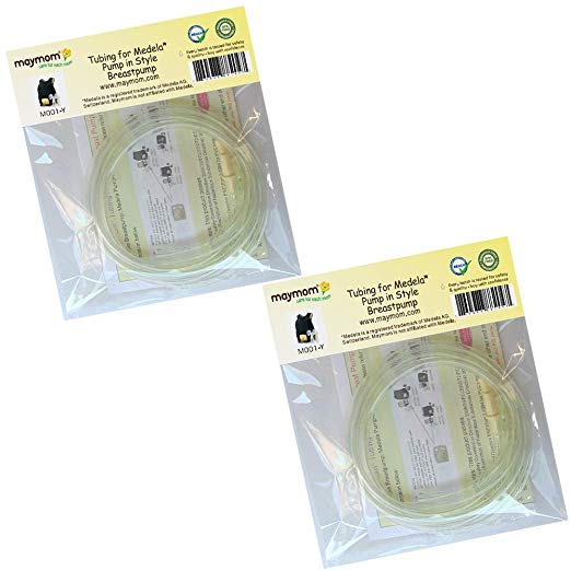 4 Tubing for Medela Pump in Style Advanced Breast Pump Release After Jul 2006. In Retail Pack. Replace Medela Tubing #8007212, 8007156 & 87212. BPA Free. Made By Maymom