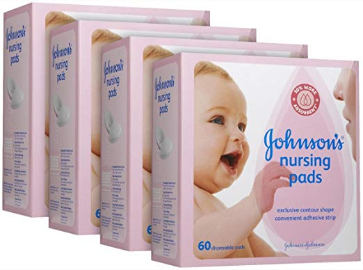 Johnson's Nursing Pads - Contour - 60 ct - 4 pk