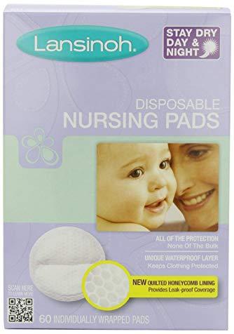 Lansinoh 20265 Disposable Nursing Pads, 60-Count, Eight-pk [Item #88008]