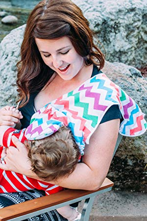 Milkmade Nursing Cover (Chevron)