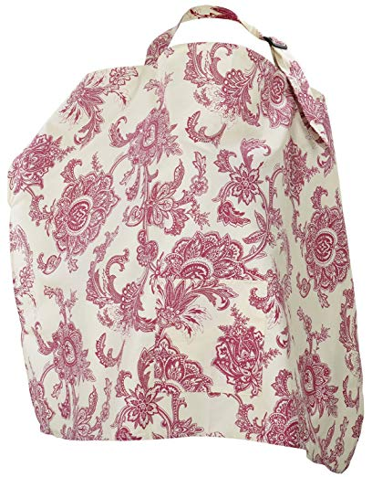 Simplicity Nursing Cover Breastfeeding Baby Blanket Poncho Cotton,Red Flower