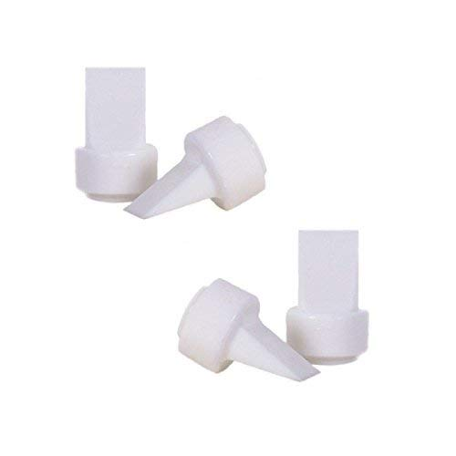 MayMom Duckbill For Older Philips Avent Isis Breast Pumps (Pack of 4)