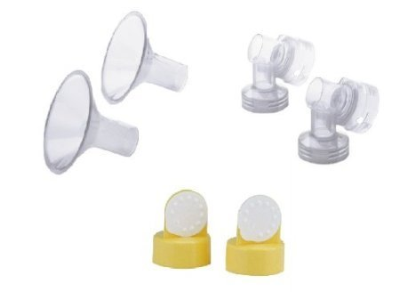 Medela Breast Shields, Connectors, Valves and Membranes (30mm Shields)