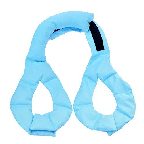 Mommy Soothers Breast Heating & Cooling Pack for Nursing/ Pumping Mothers to encourage milk let down, decrease engorgement & increase milk production (BLUE)