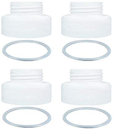Breastshield Adapter for Medela Breastshield Bottle Thread Changer Breastpump Converter Use Medela Breastpump Pump Into Wide Mouth Bottle Use on Pump In Style Swing Symphony Harmony and Avent Bottle