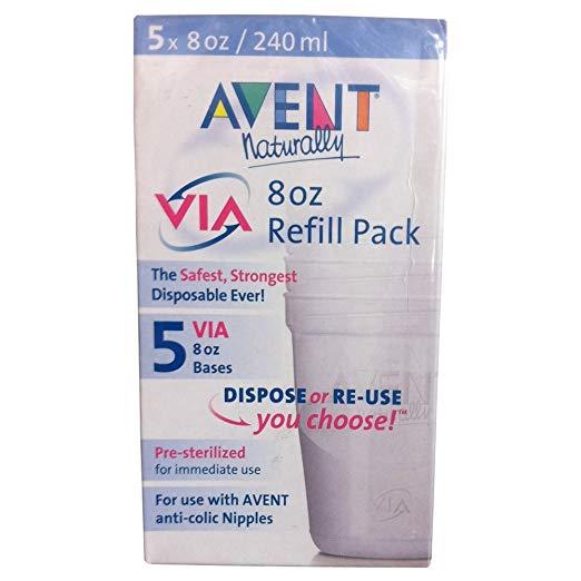 Avent Via 8 oz. Refill - 5 Pack