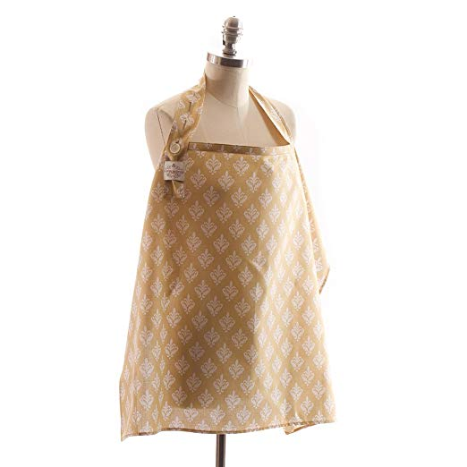 Cover In Style Nursing Cover, Damask Sand (Discontinued by Manufacturer)