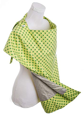 Belly Armor Nursing Cover with Anti-Radiation Shielding Fabric (Mint)