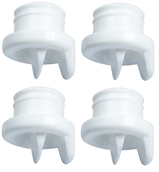 Nenesupply Duckbill Valve for Medela Breastshield Avent Breastshield and Nenesupply Breastshield Replace Avent Valve Medela Valve Work with Medela Pump In Style Symphony Swing Harmony and Avent pumps