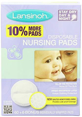 Lansinoh Nursing Pads Stay Dry 60 Each ( Pack of 8 )