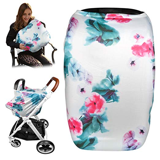 Mamkoo Nursing Cover for Breastfeeding Cover,Printed Style for Moms and Baby