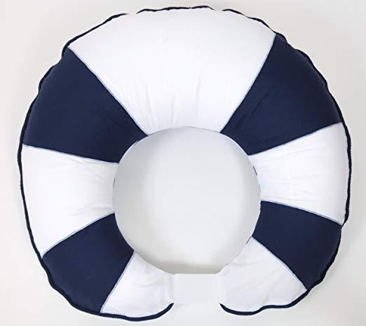 Bacati Little Sailor Nursing Pillow Cover
